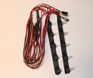LED Lampor För Chassie 10 st. 5mm