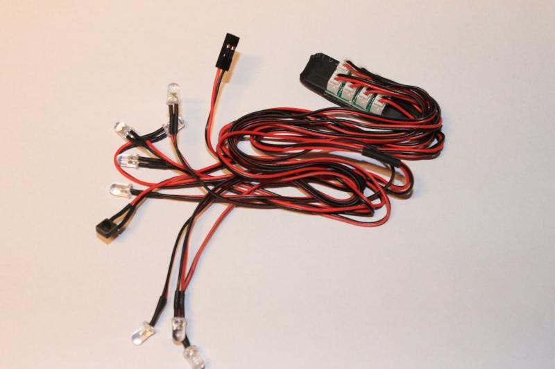 LED Lampor 8 st. 5mm HobbyDetails