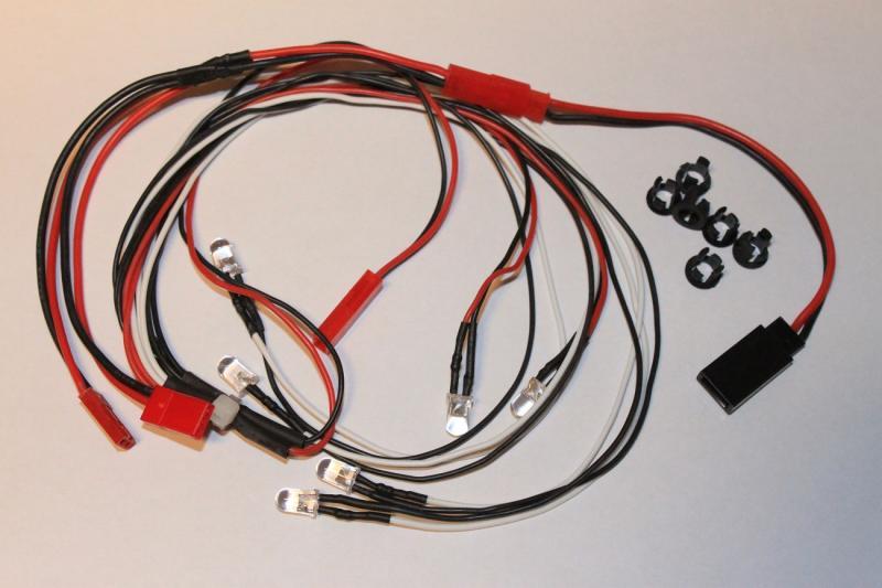 LED Lampor 6 st. 5mm HobbyDetails