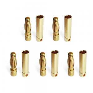 Bullet Connectors 4mm 5 pair (female-male)
