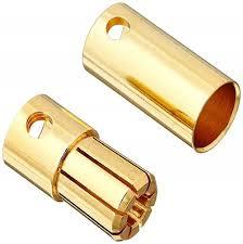 Guldkontakt Bullet 6.5mm (5 par)