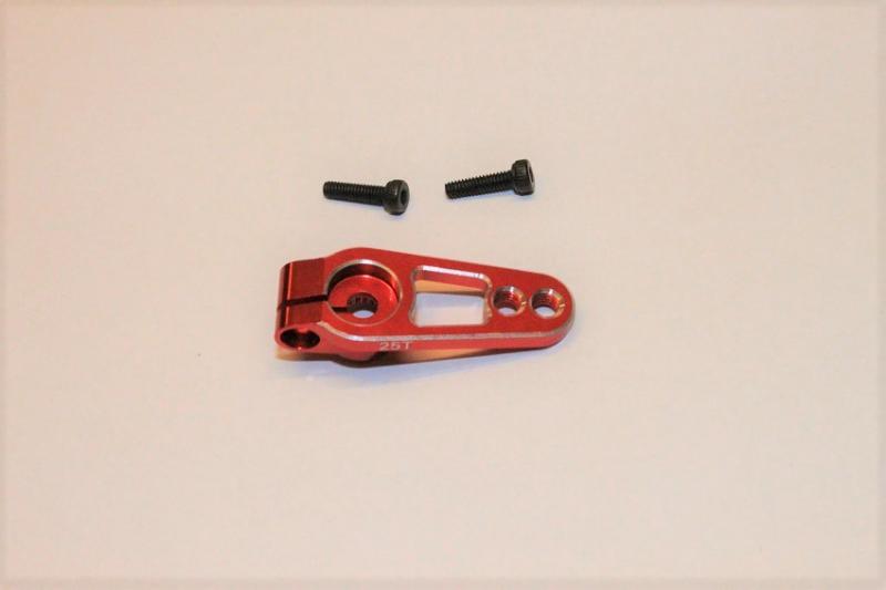 Servohorn Aluminium 25T 15/19mm