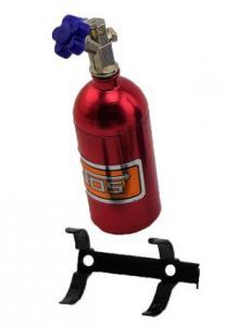 NOS Nitrous Oxide Metall Flaska 1/10 Dekoration
