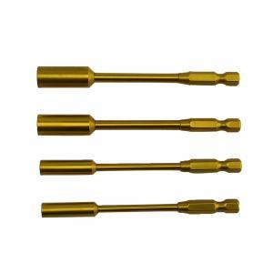 "Hylsnyckel klingor/ bitsfattning (6.35mm 1/4"") 4.0/5.5/7.0/8.0mm"
