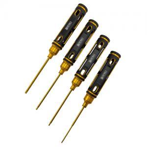Skruvmejslar Insex Guld/Svart 1.5 2.0 2.5 3.0mm