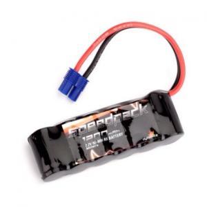 7,2V 1200mAh Ni-Mh batteri EC3 kontakt