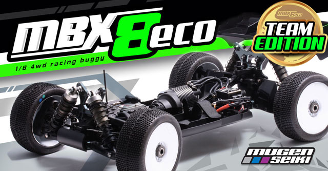 "E2026 MBX-8 ECO ""Team"" 1/8 4wd El-Buggy"