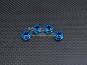 Collars i alu för styrspindlarna Blå Mini E-Revo GPM