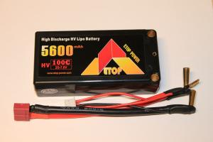 Lipo Batteri 7.6V 5600mAh 100C Shorty ETOP Power