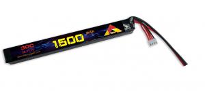 ETOP Power Airsoft Lipo 2S 1500mAh 30C Dean kontakt