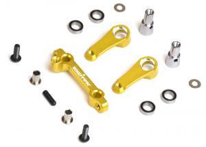 Steering Rack Set Ver.2. Gul. TLR22 2.0 Exotek