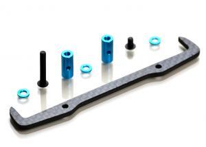 Batterihållare Kolfiber/Aluminium Exotek F1 Ultra