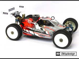 Kaross Kyosho MP9 TKi4 Bittydesign