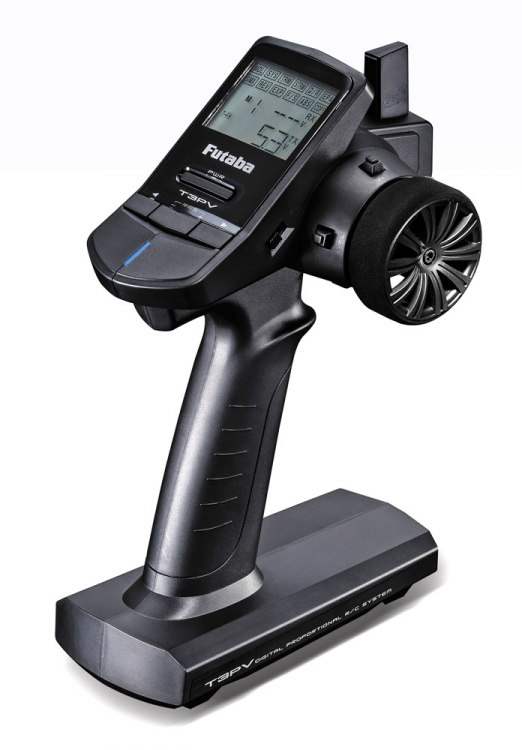 Futaba 3PV Steering wheel transmitter/R203GF 2.4GHz S/T-FHSS