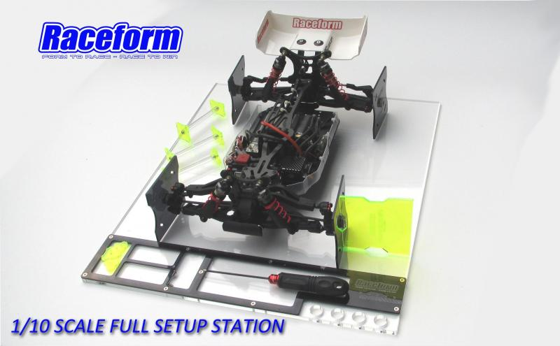 Setup Full Station 1/10 Offroad Team Raceform