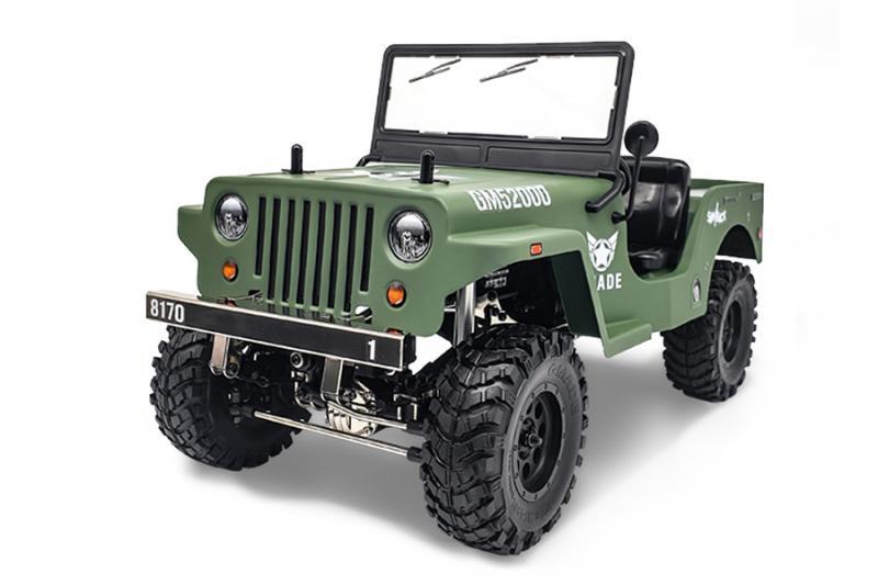 GMADE GS01 1/10 Military Sawback RTR (utan batteri o laddare)