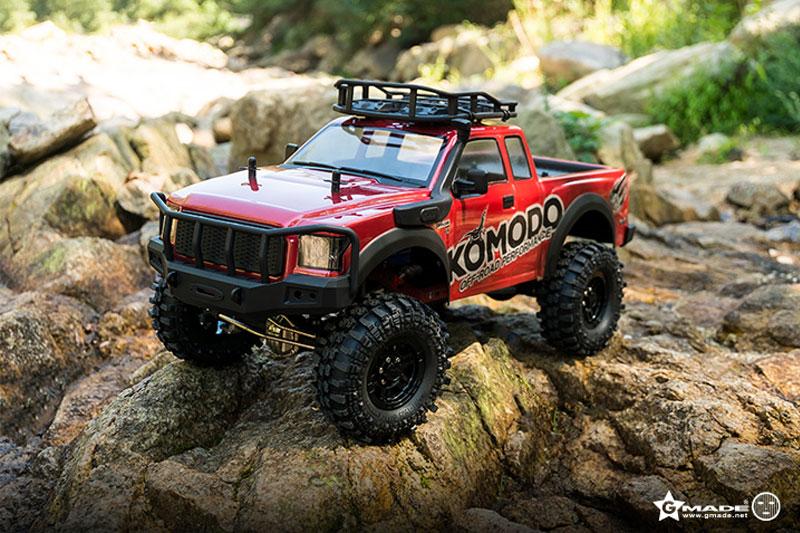 GMADE 1/10 GS01 Komodo Truck Scale Crawler RTR (utan batteri o  laddare)