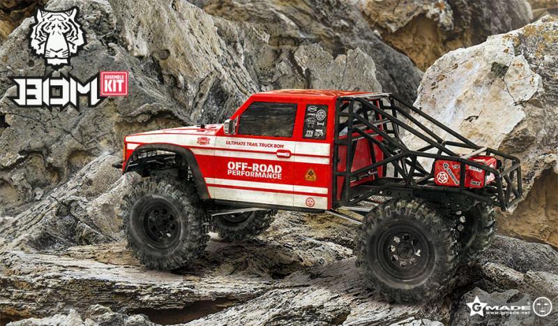 GMADE GS02 BOM 1/10 Trail Truck Byggsats