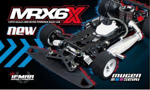 H2008 Mugen MRX6X 1:8 Nitro On-Road Car Byggsats
