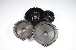 Motor Gear MOD1 8mm shaft Hardened Steel