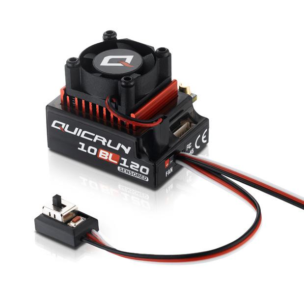 Hobbywing QuicRun 10BL120 Sensored BL 2-3S 1/10 ESC