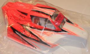 Kaross Målad Force Wave/Röd. MBX-6/Intech