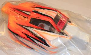 Kaross Målad Force Wave/Orange. MBX-6/Intech
