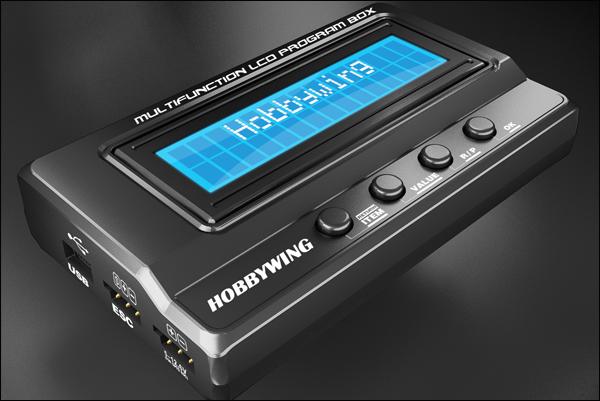 Programmeringskort LCD XeRun/EzRun Hobbywing.