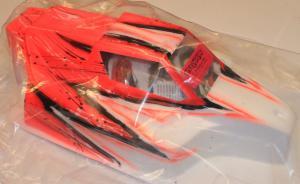 Kaross Målad Force Wave/Röd MBX-7 Bittydesign