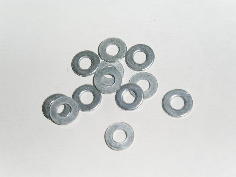 Brickor 2.5x5.5x0.5mm Stål 10 st.