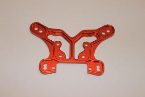 Stötdämpartorn. Bakre. Aluminium. Orange. Mini Eight. GPM
