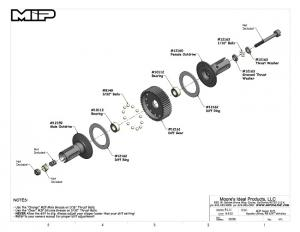 MIP Super Diff Kit. Kyosho RB6. MIP Moore
