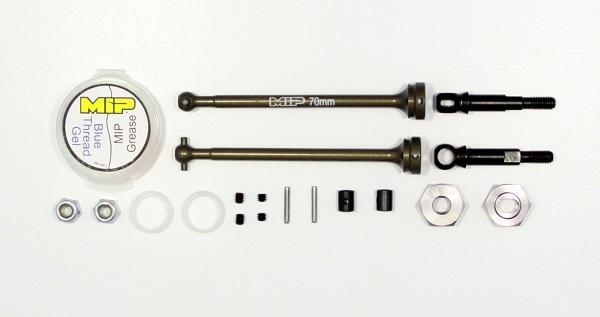 MIP CVD Aluminum Kit. Kyosho RB6. MIP Moore