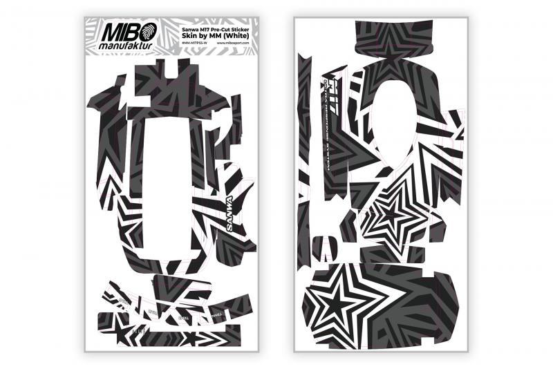 Sanwa M17 Pre-Cut Sticker Skin