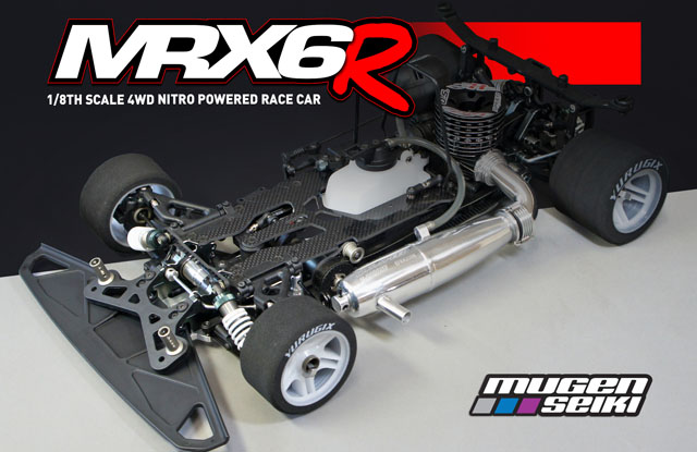 H2007 Mugen MRX-6R 1/8 On-Road Kit
