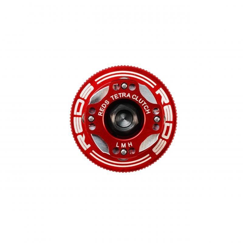 Koppling 4-backar 34mm Justerbar alu-backar Reds Racing
