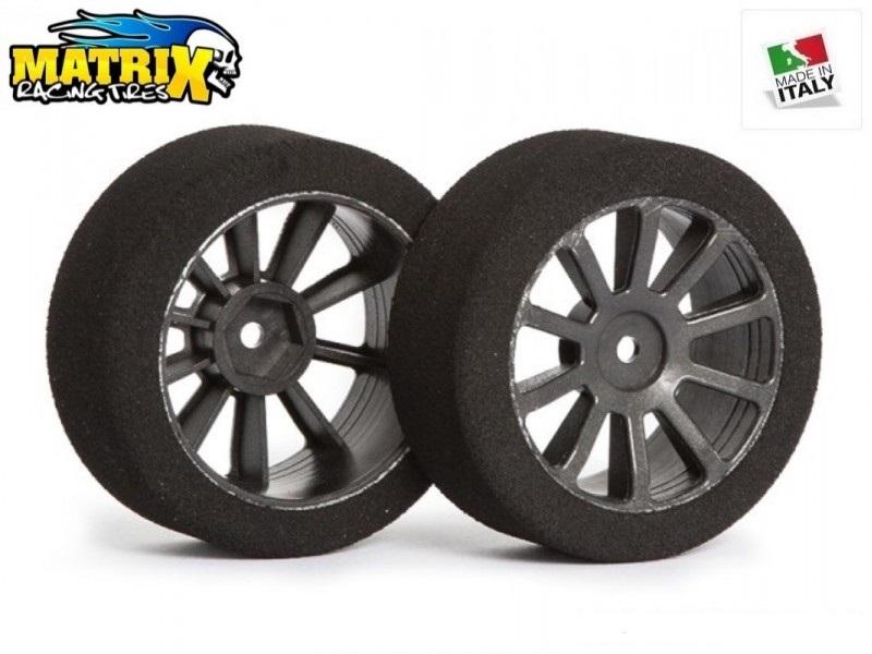 Matrix Racing Tires 1:10 30mm Rear AIR 40 Sh40 Carbon
