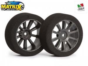 Matrix Racing Tires 1:10 30mm Rear AIR 42 Sh42 Carbon
