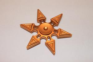 Fidget Spinner Metall Hexagonalstar