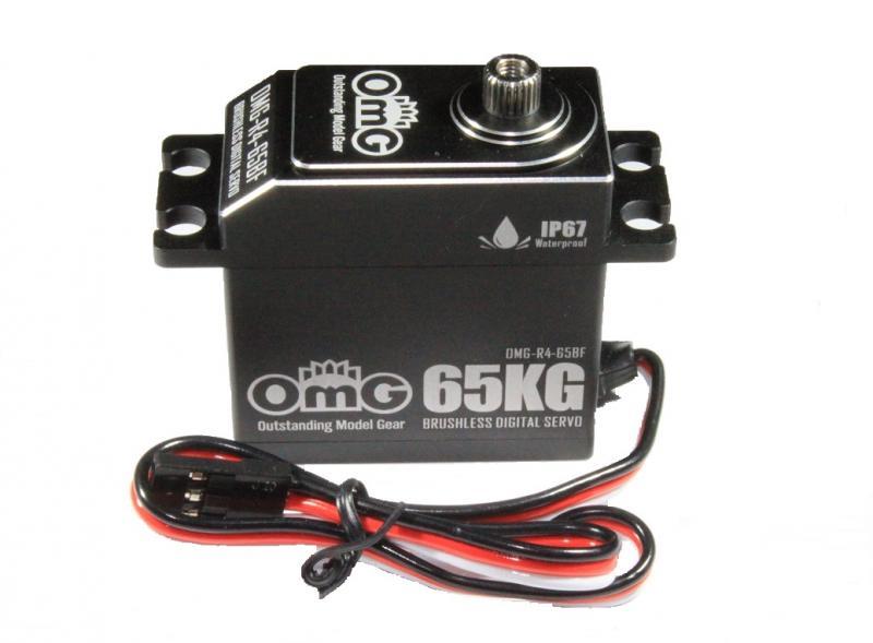 Servo Digitalt Borstlöst Waterproof IP67 HV 65KG/0.065SEK (8.4v)