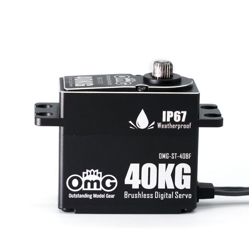 Servo Digitalt Borstlöst Waterproof Svart IP67 HV 40KG/0.065SEK (8.4v)