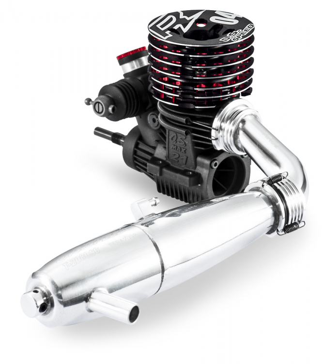 O.S. Speed R2104 On-Road/ T-2080SC Combo
