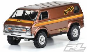 Kaross 70's Rock Van till Crawlers m. 313mm Hjulbas.
