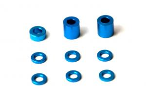 R4014 Spacers Set Alloy F1 Ultra