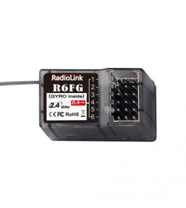 Mottagare 6-Kanal 2.4Ghz FHSS Radiolink m/Gyro