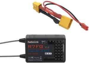 Radiolink 7-kanals Mottagare PWM&PPM&S-BUS supported GYRO