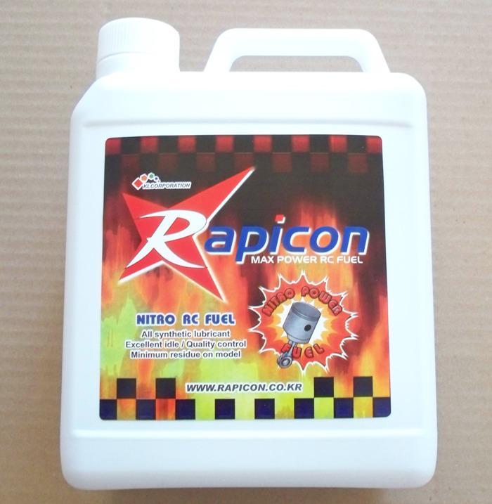 Rapicon Flygbränsle 5% Nitro 18% olja 4 lit. inkl frakt