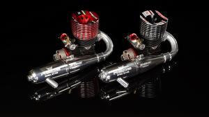 Reds Racing 721 S Scuderia Gen2 3.5cc off-road motor med avgassystem