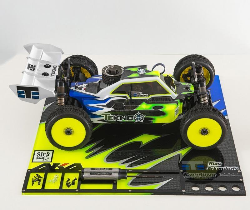 Setup Board Plexiglas 1/8 Team Raceform