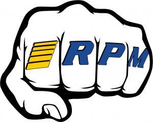 """Dekal ark """"Fist"""" RPM"""